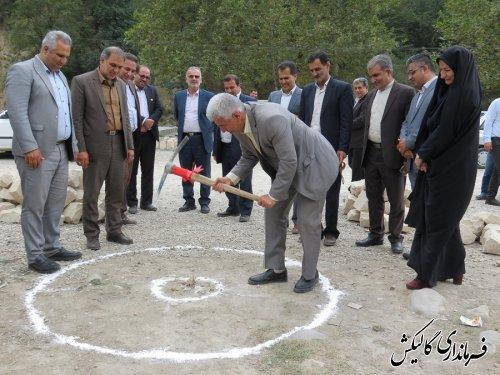 کلنگزنی پروژه بهسازی و محوطهسازی تفرجگاه پارک جنگلی فارسیان شهر گالیکش