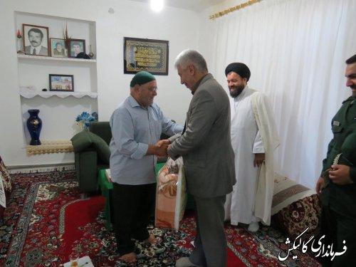 دیدار فرماندار با خانواده معظم شهید و جانباز گرانقدر دوران دفاع مقدس