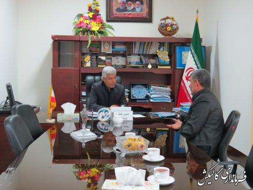 جلسه ملاقات مردمی شهرستان گالیکش با شهروندان برگزار شد