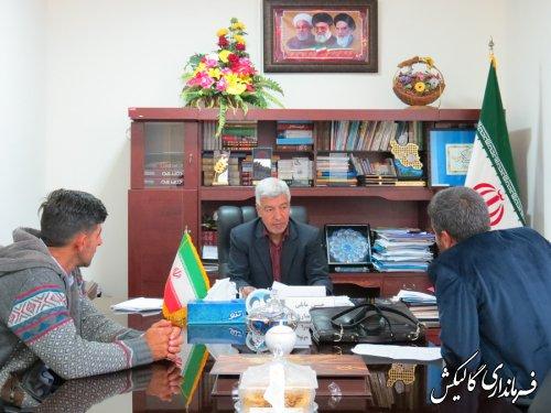 ملاقات مردمی فرماندار گالیکش با شهروندان این شهرستان برگزار شد