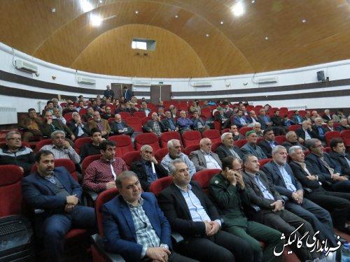 خیرین و خادمین موکب حسینبنعلی)ع) شهرستان گالیکش تجلیل شدند