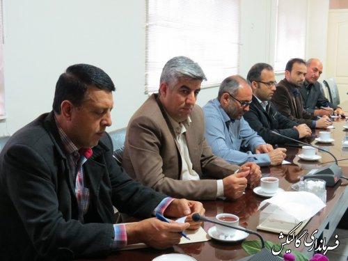 جلسه هماهنگی انتخابات و هیأت نظارت شورای نگهبان شهرستان گالیکش برگزار شد