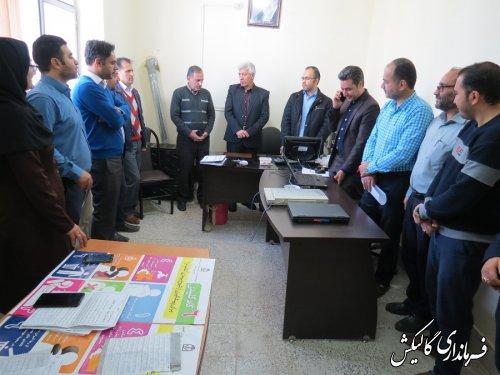 مانور سراسری سامانه جامع انتخابات در شهرستان گالیکش برگزار شد