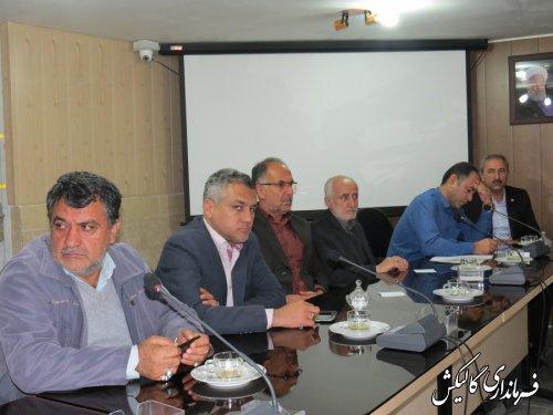 اعضای هیأت اجرایی انتخابات در گالیکش مشخص شدند