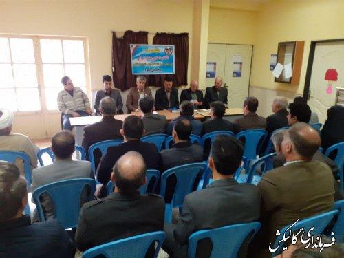 هیأت اجرایی انتخابات حوزه فرعی بخش لوه شهرستان گالیکش انتخاب شدند