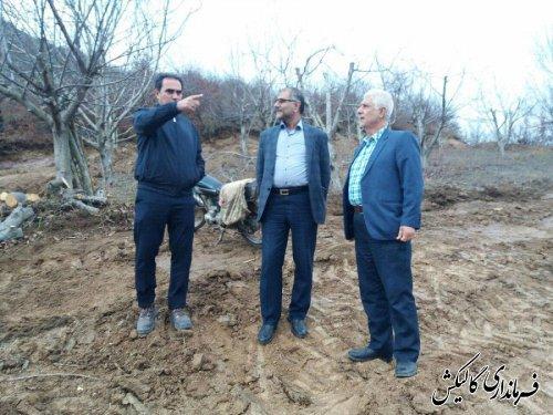بازسازی اراضی کشاورزی خسارتدیده از سیل ابتدای سال جاری شهرستان گالیکش آغاز شد