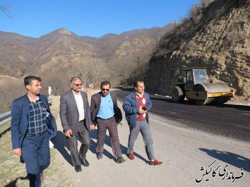 آغاز بهسازی نقاط حادثهدیده از سیل مسیر مواصلاتی دهستان نیلکوه شهرستان گالیکش
