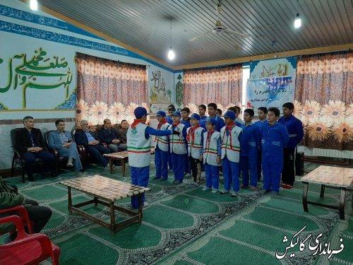 دیدار فرماندار و اعضای شورای آموزش و پرورش گالیکش با دانشآموزان و فرهنگیان شهرستان