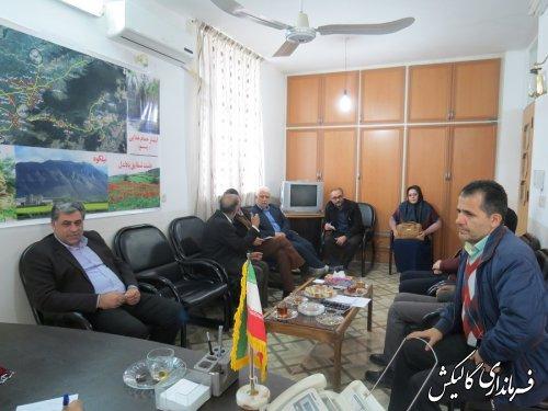 ملاقات مردمی فرماندار گالیکش با شهروندان در بخشداری مرکزی این شهرستان برگزار شد