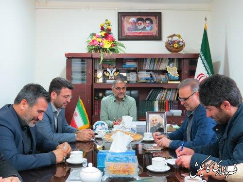 سومین جلسه کمیته فناوری اطلاعات ستاد انتخابات شهرستان گالیکش برگزار شد