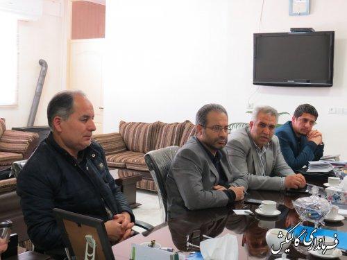 جلسه کمیته تطبیق شهرستان گالیکش برگزار شد