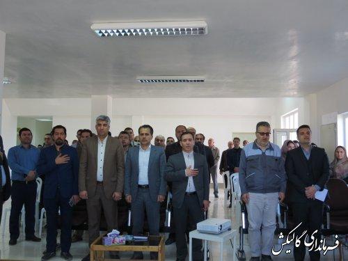 آیین افتتاح متمرکز 106پروژه عمرانی و اقتصادی شهرستان گالیکش برگزار شد