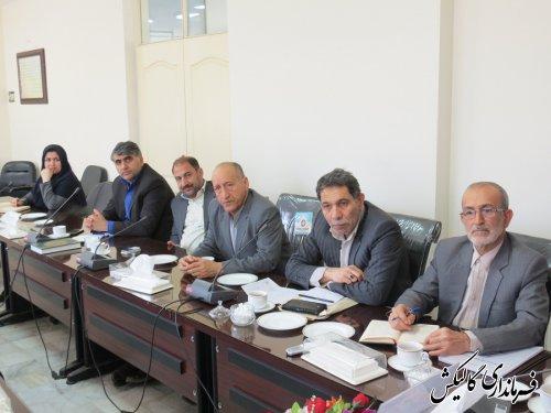 جلسه هماهنگی هیاتهای اجرایی، نظارت و بازرسی انتخابات شهرستان گالیکش برگزار شد