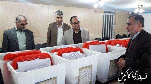 همه تمهیدات و ملزومات مورد نیاز شعب انتخابات در شهرستان گالیکش فراهم شده است