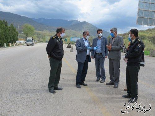 کاهش 70درصدی تردد وسایل نقلیه در شهرستان گالیکش در مدت اجرای طرح فاصله گذاری اجتماعی