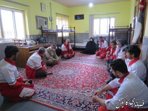 هلال احمر یک فعالیت داوطلبانه بر مبنای نوعدوستی و ایثارگری است