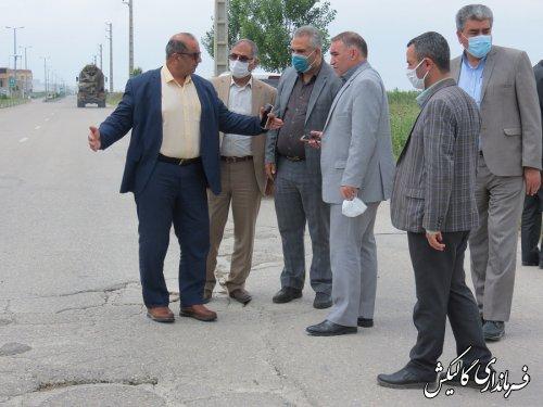 مشکلات حوزه راه و شهرسازی شهرستان گالیکش بررسی شد