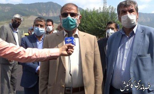 بهرهبرداری از ۴۷هزار مترمربع زیرسازی و آسفالت راه روستایی شهرستان گالیکش در هفته دولت