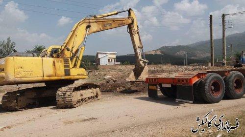 عملیات اجرایی پروژه احداث کانال هدایت آبهای سطحی روستای چقربشقارداش آغاز شد