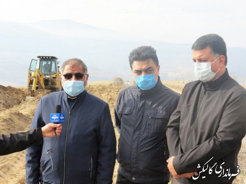 روستای قوشهچشمه شهرستان گالیکش از نعمت آب شرب سالم بهرهمند میشود