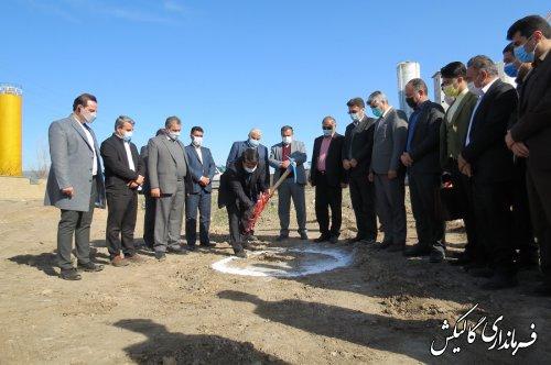 عملیات اجرایی احداث واحد تولیدی فرآوری توتون در شهرستان گالیکش آغاز شد
