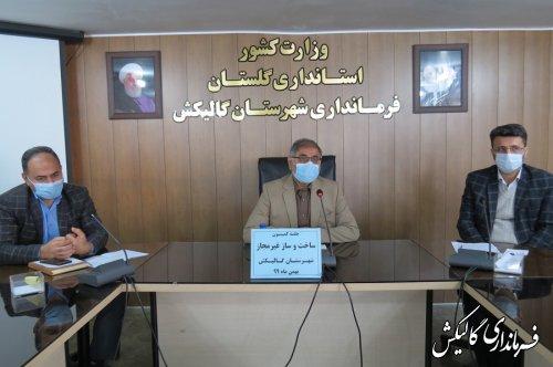حکم قلع و قمع ۳۰ مورد از ساخت و سازهای غیرمجاز در گالیکش صادر شد