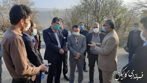 رفع مشکلات بنگاههای اقتصادی و مراکز تولیدی بزرگ در شهرستان گالیکش