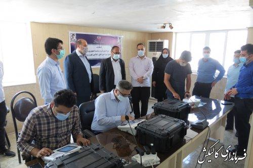 دومین مانور انتخابات ۱۴۰۰ در فرمانداری گالیکش برگزار شد