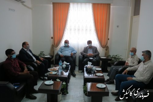 نشست مشترک هیات نظارت بر انتخابات با فرماندار و رئیس حوزه انتخابیه شهرستان گالیکش