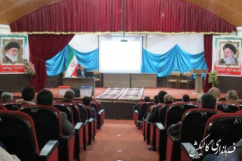 همایش آموزشی و توجیهی نمایندگان فرماندار گالیکش در انتخابات 1400