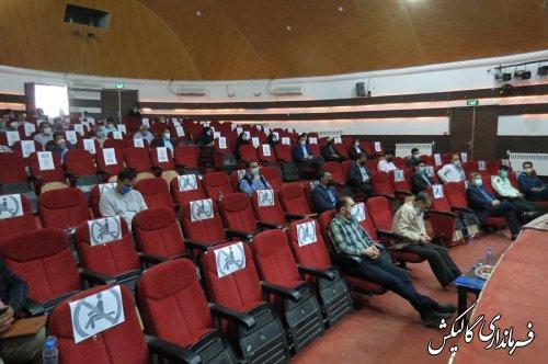همایش توجیهی نامزدهای انتخابات شوراهای اسلامی شهرهای گالیکش و صادقآباد برگزار شد