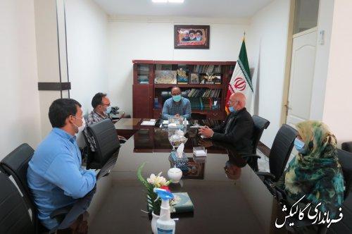 دیدار منتخبین ششمین دوره شورای اسلامی شهر صادقآباد با فرماندار شهرستان گالیکش