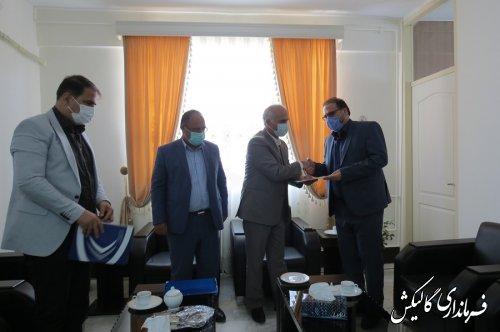 رئیس جدید اداره ورزشوجوانان شهرستان گالیکش معارفه شد