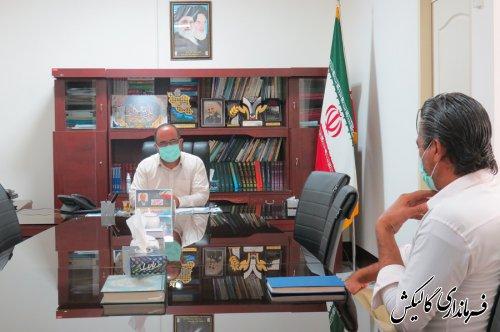 ملاقات مردمی فرماندار گالیکش با شهروندان برگزار شد